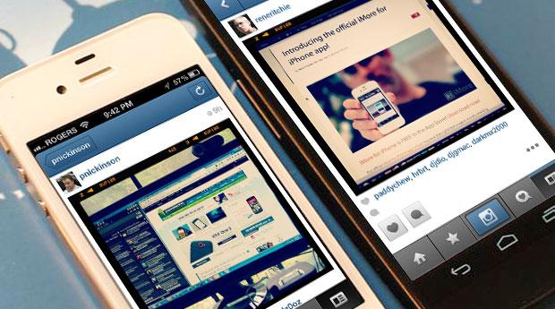 Скачать на Android Инстаграм как на iPhone
